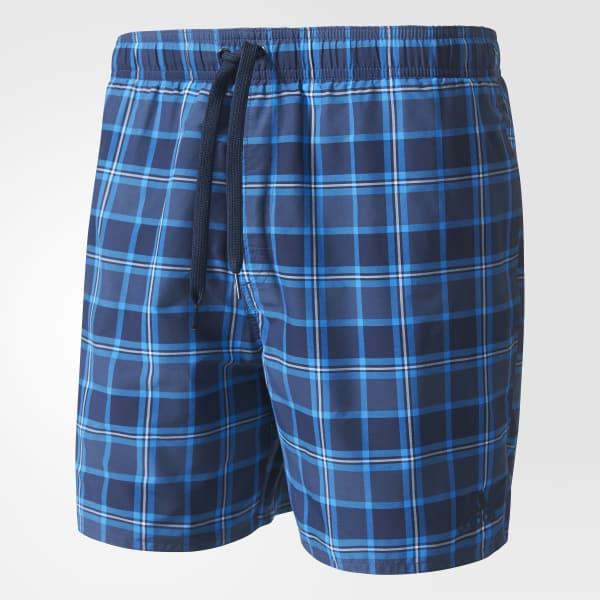Check Water Shorts Azul AJ5558