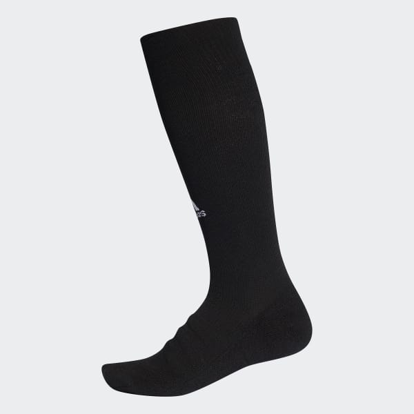Alphaskin Lightweight Cushioning Over-the-Calf Compression Socks Black CV7698