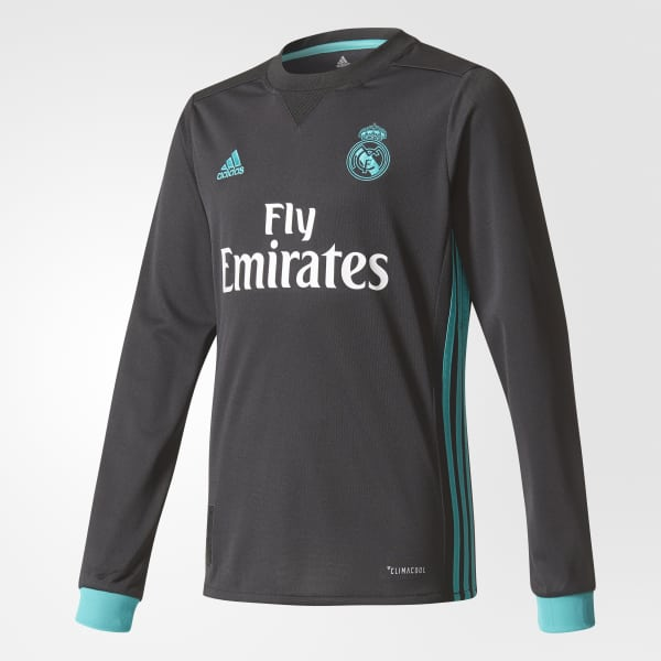 Real Madrid Away Jersey Black B31093