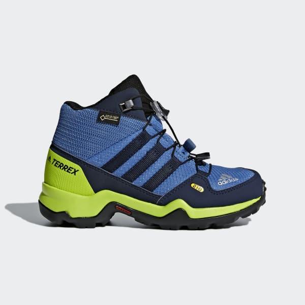 TERREX Mid GTX Schoenen blauw CM7710