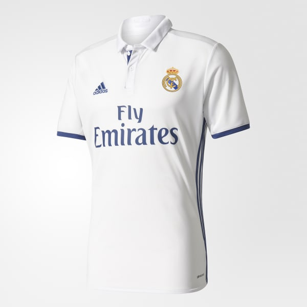 Real Madrid Home Replica Jersey White S94992