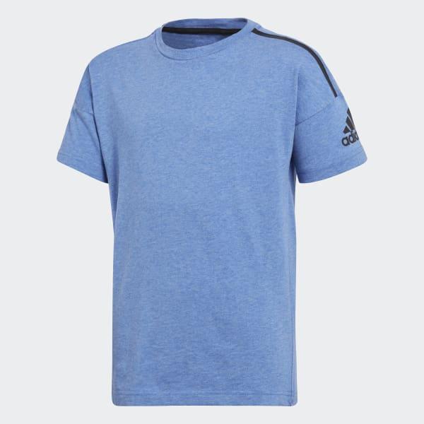 adidas Z.N.E. T-Shirt blau CF6454