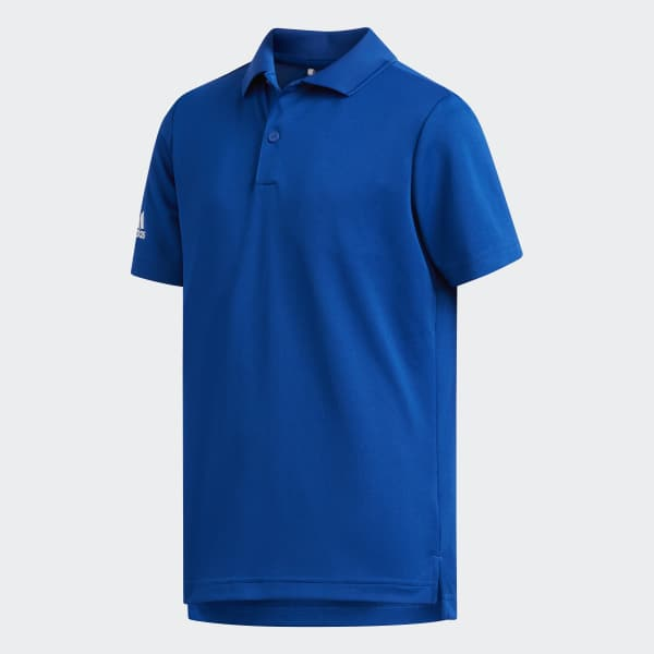 Polo Tournament bleu CX4872