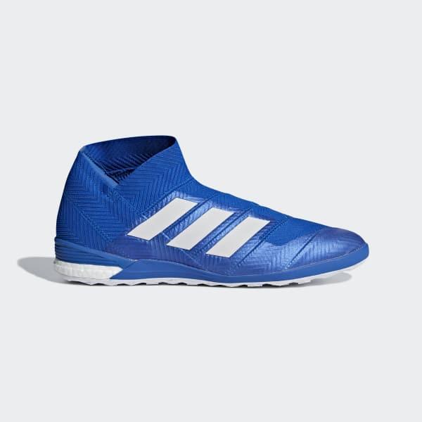 Nemeziz Tango 18+ IN Fußballschuh blau DB2473