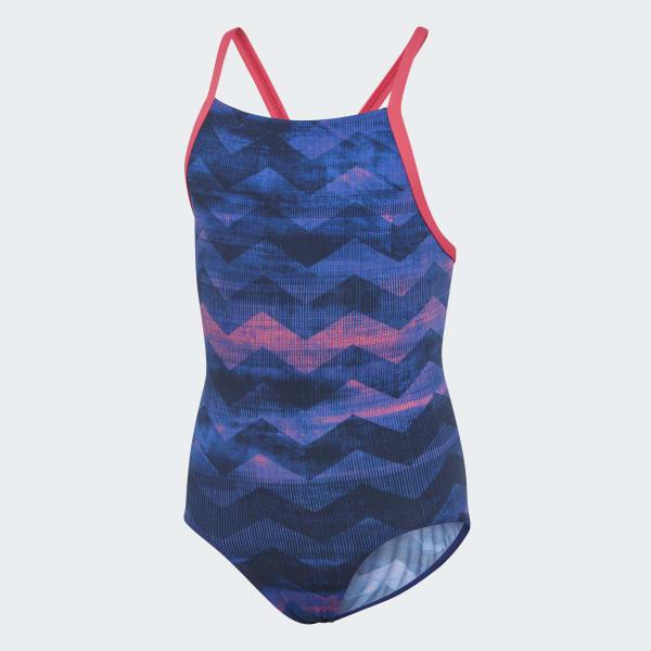 Bañador Allover Print Azul DH2437