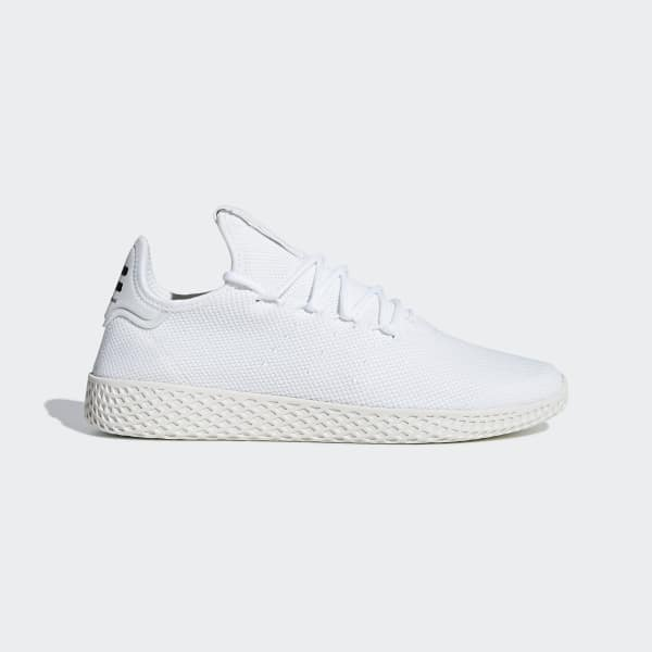 Chaussure Pharrell Williams Tennis Hu blanc B41792