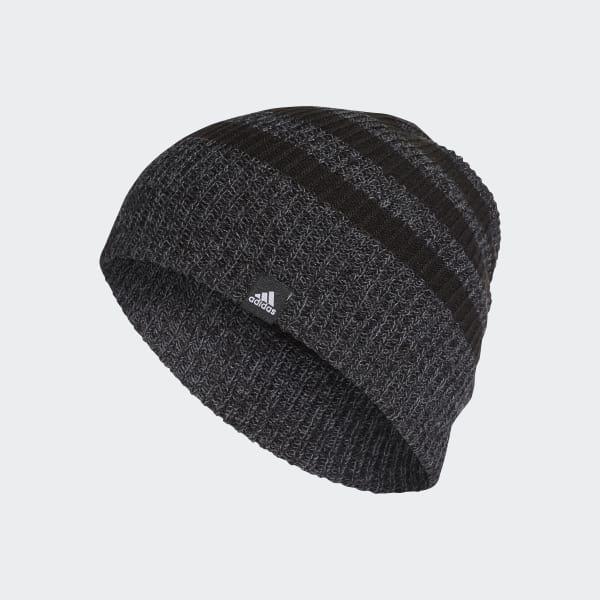 3-Streifen Mütze schwarz BR9927