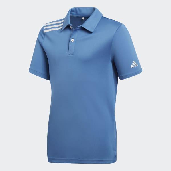 3-Streifen Tournament Poloshirt blau CD9974