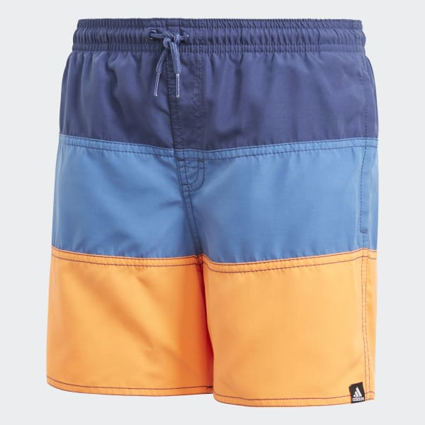 Colorblock Swim Shorts Blue CV5212