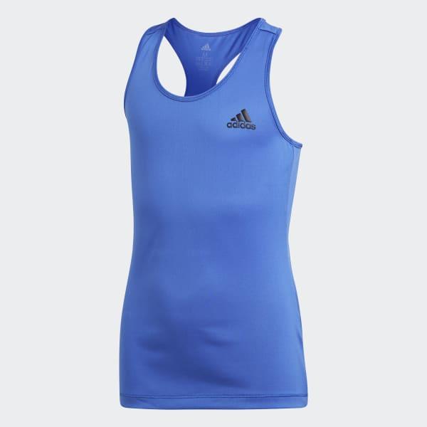 Débardeur Training bleu CF7176