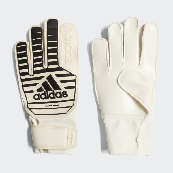 Classic Junior Gloves White CW5619