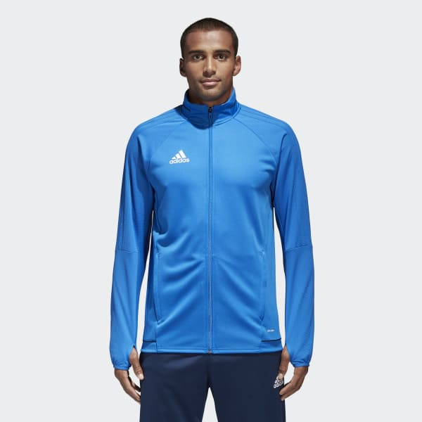 Tiro 17 Trainingsjacke blau BQ2711