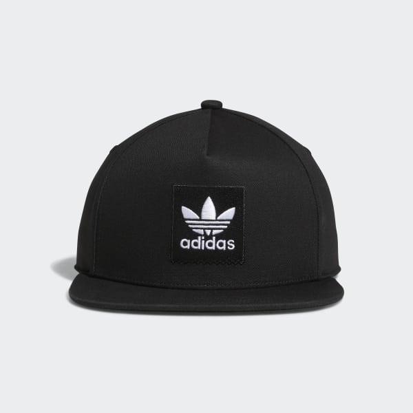 Two-Tone Trefoil Snapback Hat schwarz DH2568