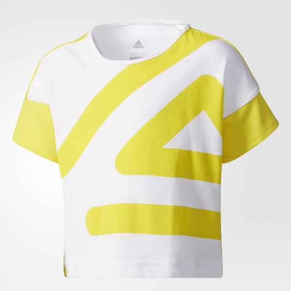 T-shirt adigirl Giallo CE9377