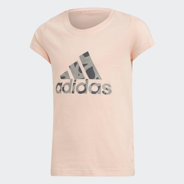 Logo T-Shirt rosa DJ1325