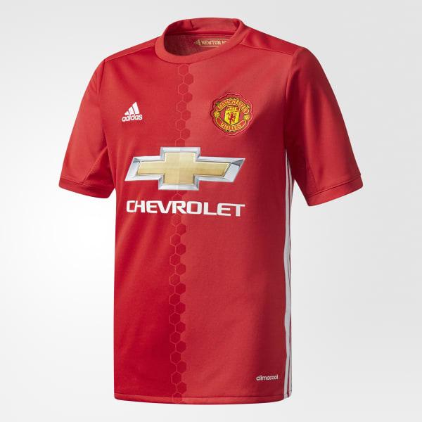 Camiseta Manchester United FC Home Rojo AI6716