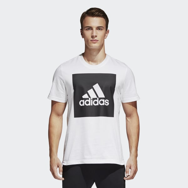Essentials Box Logo T-shirt wit B47358