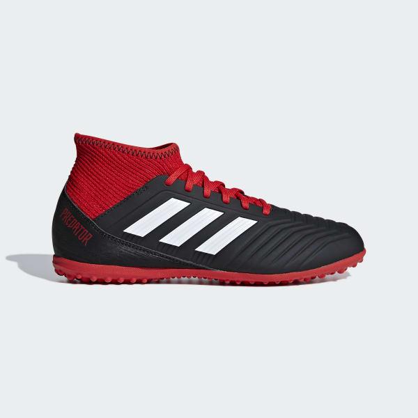 Zapatos de Fútbol Predator Tango 18.3 Césped Artificial Negro DB2330