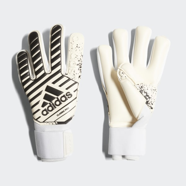 Classic Pro Gloves White CW5616