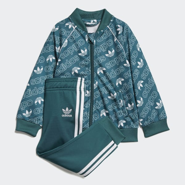 Monogram Trefoil SST Track Suit Green D96087