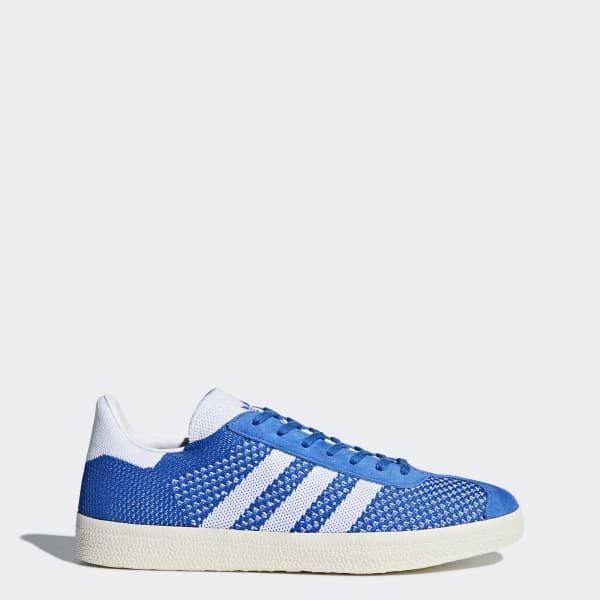 Gazelle Primeknit Shoes Blue BB5246