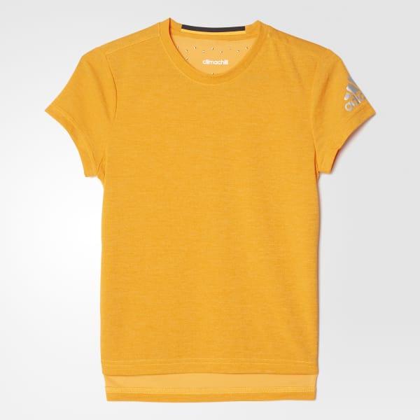 Climachill T-Shirt gelb AY5959