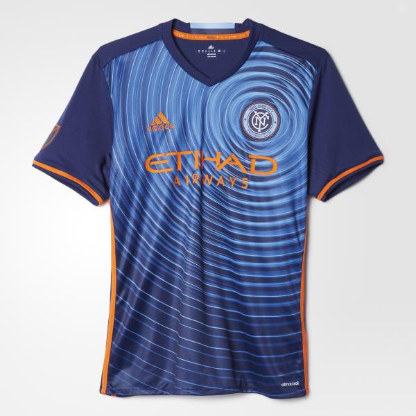 NYC FC Away Replica Jersey Blue AC0340