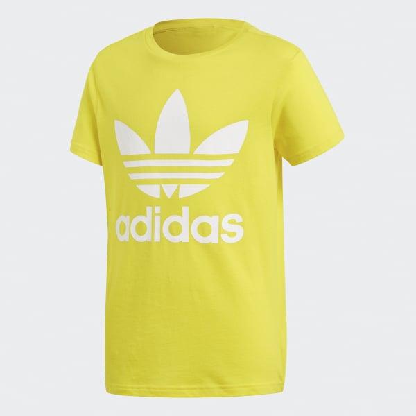 Camiseta Trefoil Amarillo CF8547
