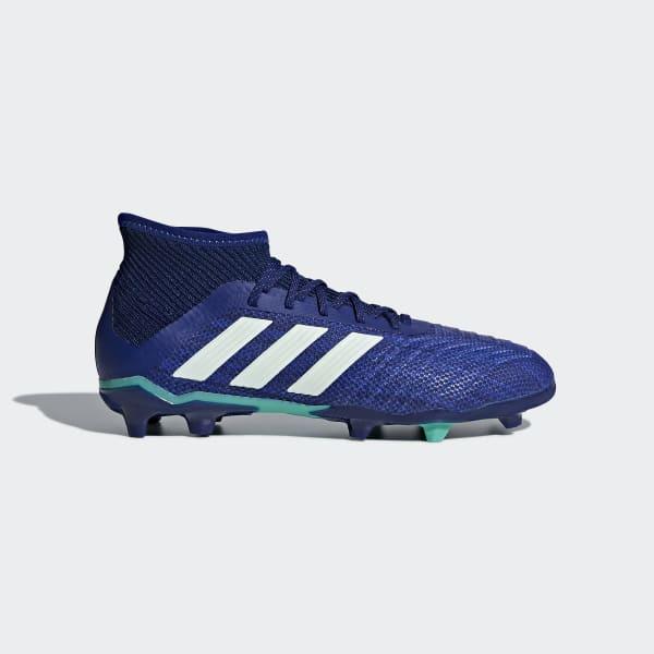 Predator 18.1 Firm Ground Boots Blue CP8874