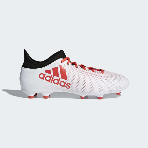 X 17.3 Firm Ground Boots White CP9192