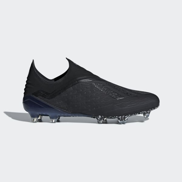 X 18+ Firm Ground Cleats Black DB2206
