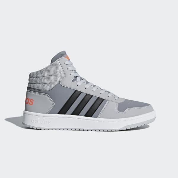 VS Hoops Mid 2.0 Shoes Grå DB0100