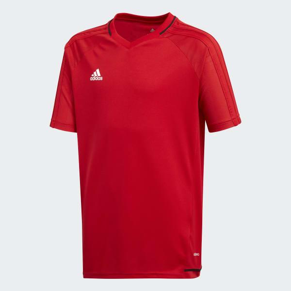 Tiro17 Training Voetbalshirt rood BP8561