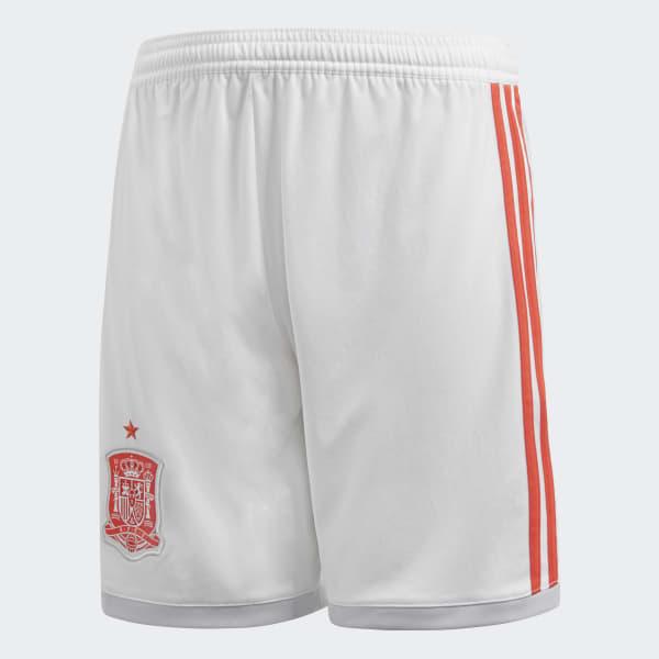 Pantalón cortosegunda equipación España Blanco BR2690