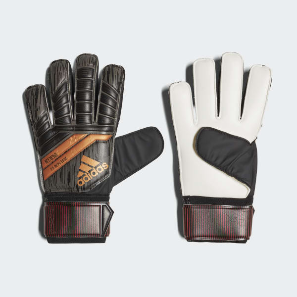Predator 18 Fingersave Replique Gloves Black CF1358