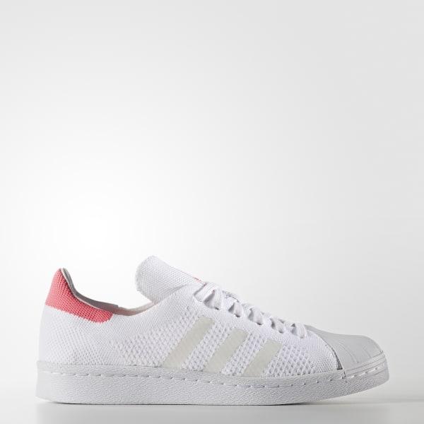 Superstar 80s Primeknit Schuh weiß BB5095