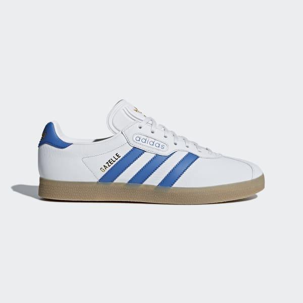 Gazelle Super Schuh weiß CQ2798