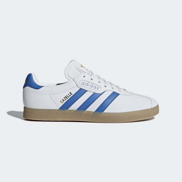 Gazelle Super Shoes Vit CQ2798