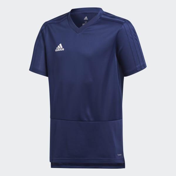 Camiseta entrenamiento Condivo 18 Azul CG0377