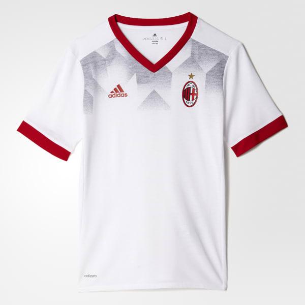 Maillot d'échauffement Milan AC Domicile blanc BP9147