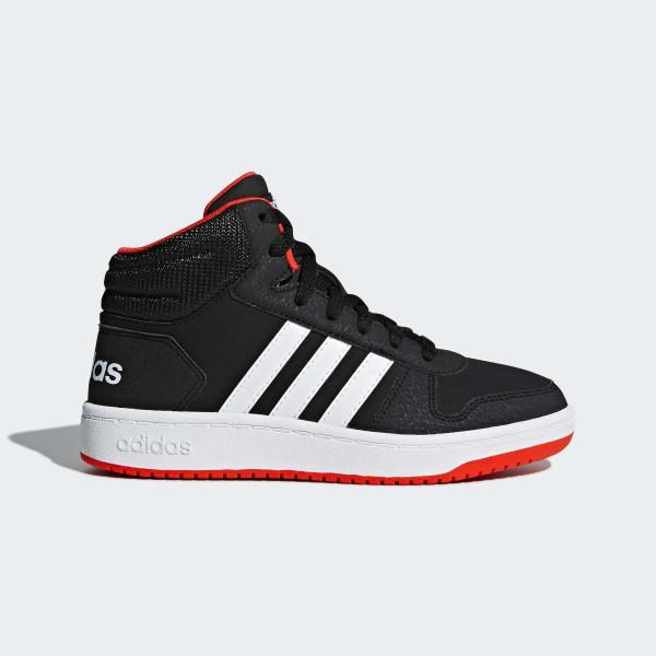 Hoops 2.0 Mid Schuh schwarz B75743