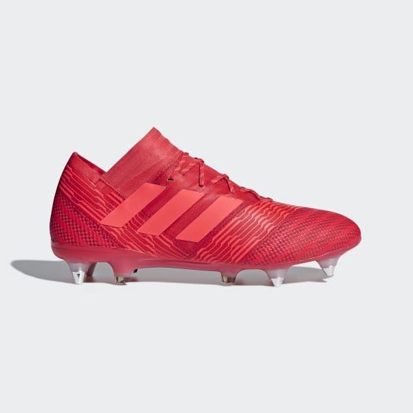Nemeziz 17.1 Soft Ground Voetbalschoenen rood CP8944