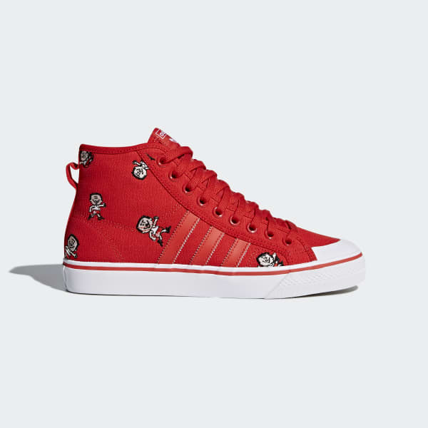 Nizza Hi Shoes Red CQ2368