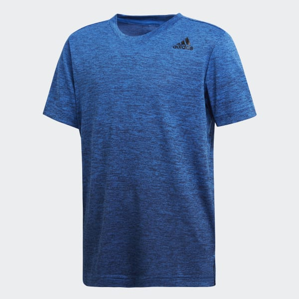 Training Gradient T-Shirt blau DJ1186