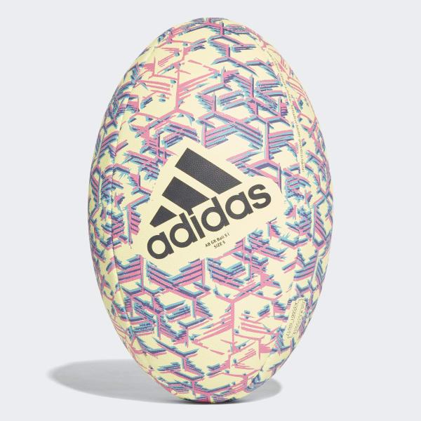 Ballon de rugby All Blacks jaune CD5018