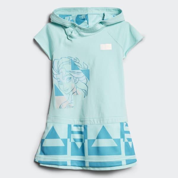 Vestido de Verano Disney Frozen Azul CE9819
