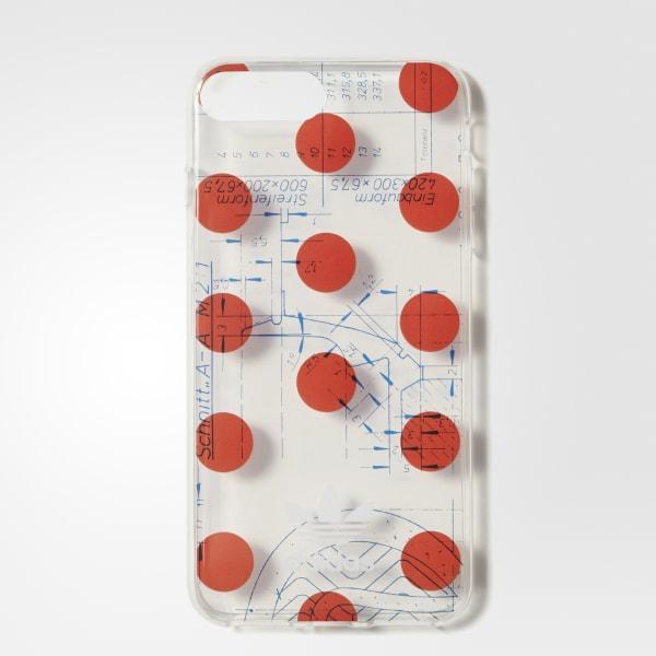 70s Clear Case iPhone 8+ Grey CJ1259