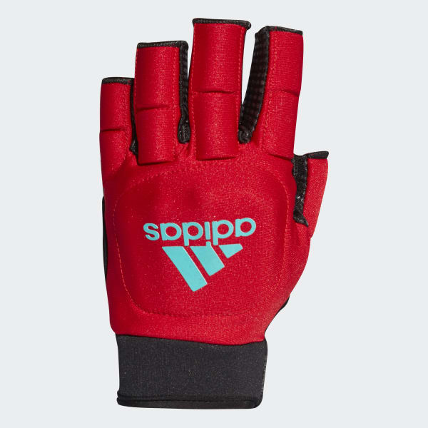 Hockey OD Handschoen rood BR4513