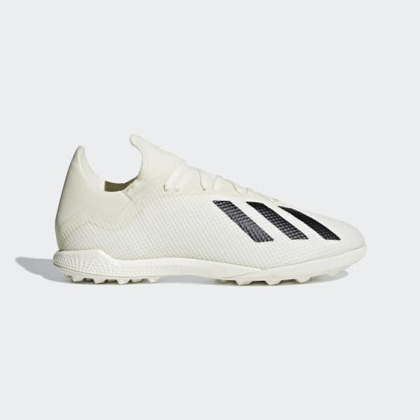 X Tango 18.3 Turf Shoes Off White / Core Black / Cloud White DB2474