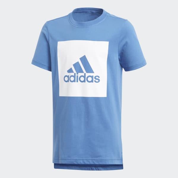 T-shirt Essentials Logo Blu CF6513